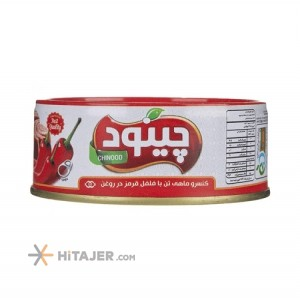 Chinood tuna fish with red pepper in oil 150 g