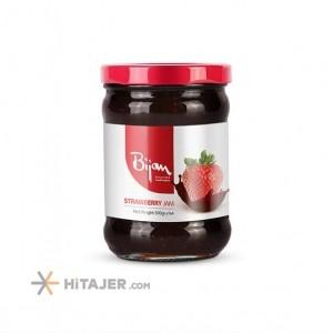 مربای توت فرنگی بیژن 290 گرم بازار صادراتی ایران
