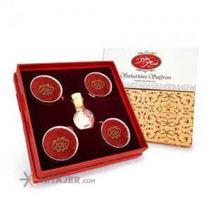 Sahar khiz All Red Saffron, Tin Can and Gift Box 8 g