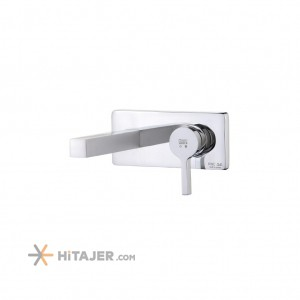 KWC chrome ava concealed basin faucet