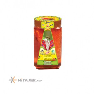 Golrang 2500g Honey without wax in a jar