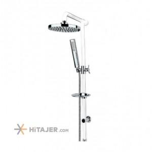 Rassan tina white lever universet bathroom shower