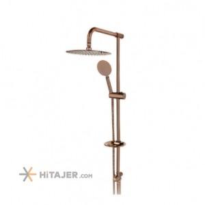 Rassan tina rose gold lever universet bathroom shower