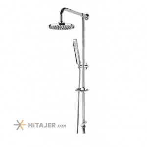 Rassan tina chrome lever universet bathroom shower