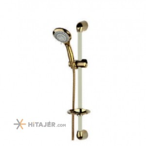 Rassan gold ivory unica multi modes bathroom shower