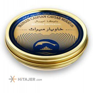Miras Beluga Caviar Imperial size 3.1