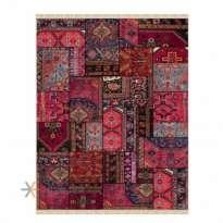 Patchwork Machin Carpet 700 Reeds Code EB131