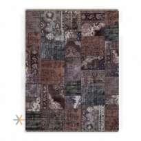 Patchwork Machin Carpet 700 Reeds Code EB129