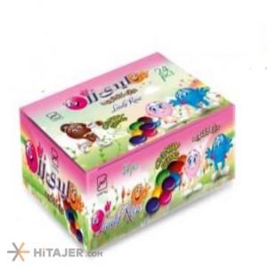 دراژه شکلاتی پاکتی لیدی رز بازار صادراتی ایران