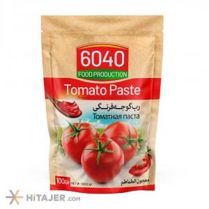 6040 Doypack Tomato Paste 100 gr