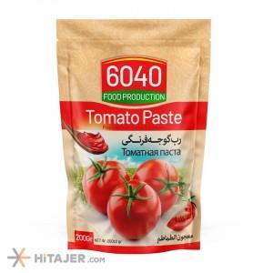 6040 Doypack Tomato Paste 200 gr