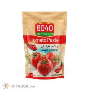 6040 Doypack Tomato Paste 70 gr