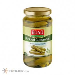 6040 Special Pickled Cucumber 680 gr Iran Export Market
