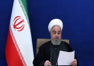 نگاه خشمگین روحانی به وزیر بهداشت +عکس