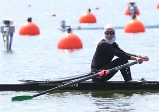 درخشش ادامه دار پدیده ایرانی قایقرانی در المپیک