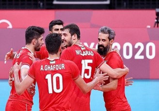 المپیک ۲۰۲۰ توکیو/ تیم ملی والیبال ایران مقابل ونزوئلا به برتری رسید