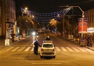 عدم اطلاع لغو منع تردد شبانه به پلیس