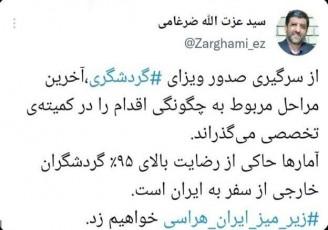 از سرگیری صدور ویزای گردشگری ایران