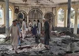 انفجار در نماز جمعه شیعیان قندوز