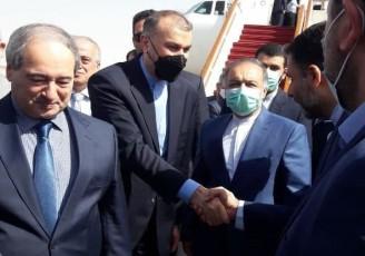 امیرعبداللهیان وارد سوریه شد