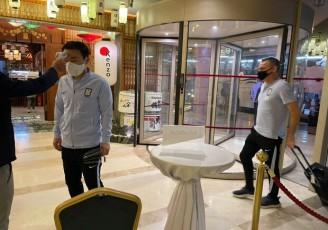 کاروان تیم ملی کره جنوبی وارد تهران شد