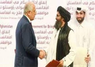 توافق فوق محرمانه آمریکا با طالبان