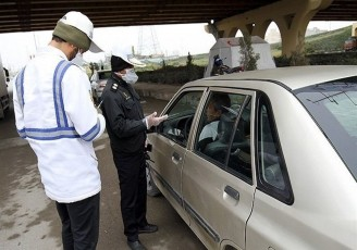 جریمه سنگین تردد در شهرهای نارنجی و قرمز