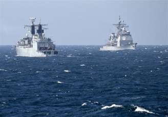 مانور ناگهانی نیروی دریایی اسرائیل