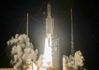 پرتاب ماهواره نظامی توسط فرانسه