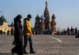 اجرای محدودیت های کرونایی بار دیگر در مسکو