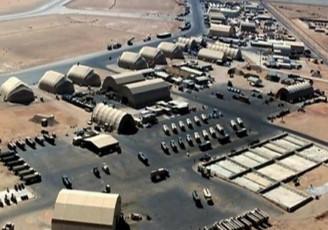 حمله پهپادها به پایگاه آمریکایی عینالاسد در عراق