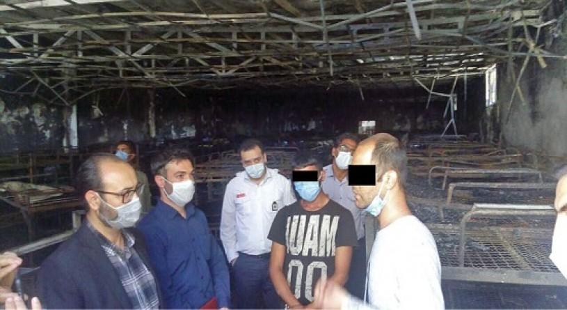 ماجرای جنجالی آتش سوزی در مرکز ترک اعتیاد