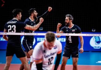 هلند تسلیم شد؛ نخستین پیروزی آلکنو برای والیبال ایران