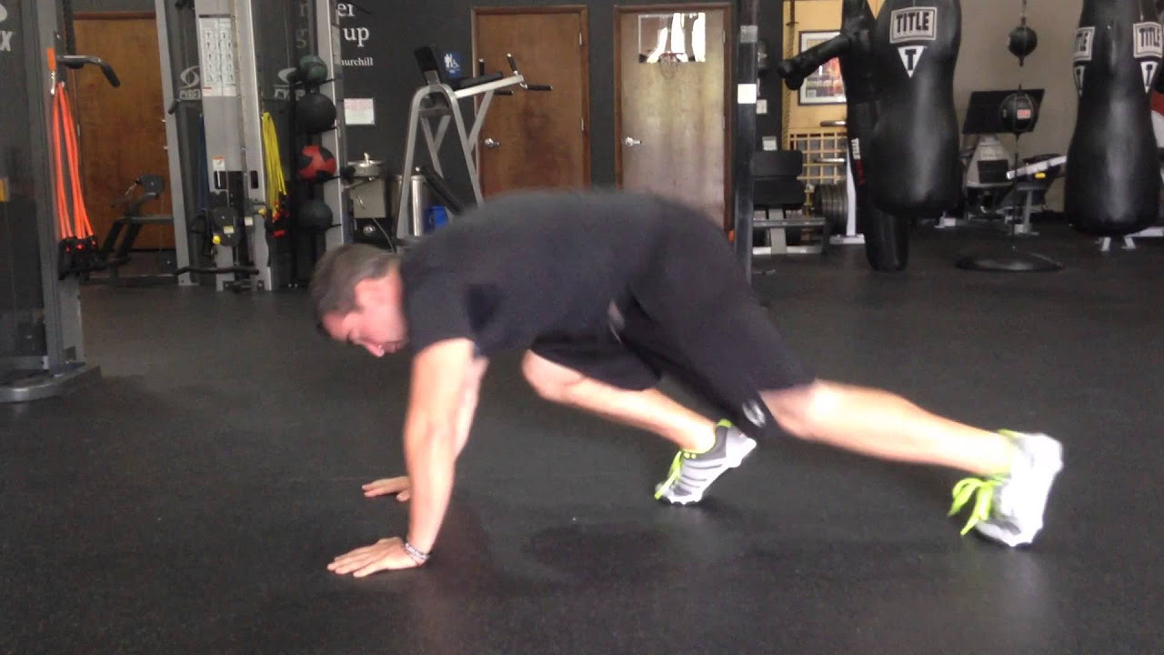 How to do Mountain Climbers Exercise the RIGHT way.